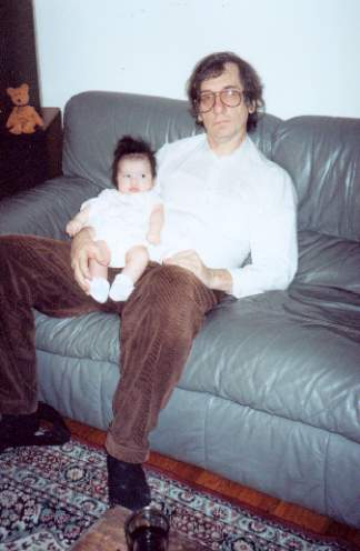 Sandra with her Father