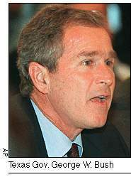 Texas Governor George Bush, Jr.
