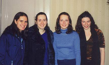 Elina Groberman, Irina Krush, Jennie Frenklakh and Jennifer Shahade
