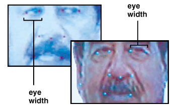 Eyes of Saddam Hussein