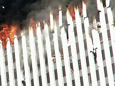 Victims jumping from the World Trade Center